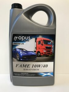 1L Opus Engine Oil Fame 10W/40 Semi-Synthetic