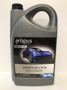 1L Opus Engine Oil Synopsus Nova 5W:40 Fully Synthetic