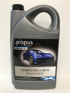 1L Opus Engine Oil Synopsus Nova J 10W:50 Fully Synthetic