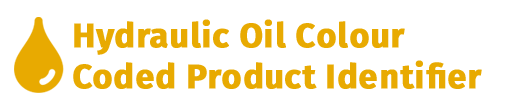 Yellow Hydraulic Oil Colour Coded Product Identifier
