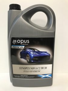 1L Opus Engine Oil Synopsus Nova C2 5W:30 Fully Synthetic