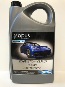 1L Opus Engine Oil Synopsus Nova C1 5W:30 Low Saps Fully Synthetic