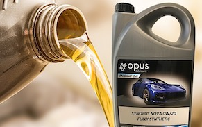 Opus Lubricants automotive lubricants